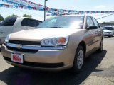 2005 Light Driftwood Metallic Chevrolet Malibu Sedan #12132110