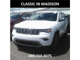 2017 Bright White Jeep Grand Cherokee Limited 4x4 #121245631