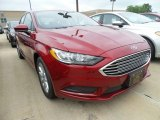 2017 Ruby Red Ford Fusion SE #121250056