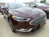 2017 Burgundy Velvet Ford Fusion SE #121250054