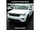 2017 Bright White Jeep Grand Cherokee Limited 4x4 #121250007