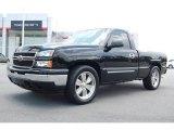 2006 Black Chevrolet Silverado 1500 LT Regular Cab #12134702