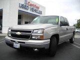 2006 Silver Birch Metallic Chevrolet Silverado 1500 LT Extended Cab #12138150