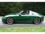 2017 Porsche 911 Paint to Sample Irish Green
