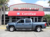 2008 Blue Granite Metallic Chevrolet Silverado 1500 LT Crew Cab #12123791