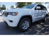 2017 Bright White Jeep Grand Cherokee Laredo #121652228