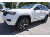 2017 Bright White Jeep Grand Cherokee Trailhawk 4x4 #121652226