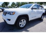 2017 Bright White Jeep Grand Cherokee Laredo #121652225