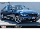 2017 Mediterranean Blue Metallic BMW 3 Series 330i Sedan #121651667