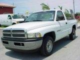 2001 Bright White Dodge Ram 1500 ST Regular Cab #12136086