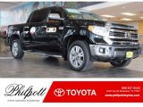 2017 Midnight Black Metallic Toyota Tundra 1794 CrewMax 4x4 #121651991