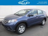 2014 Mountain Air Metallic Honda CR-V LX AWD #121686988
