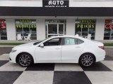 2017 Bellanova White Pearl Acura TLX V6 Technology Sedan #121687236