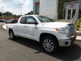 2017 Super White Toyota Tundra Limited Double Cab 4x4 #121687112