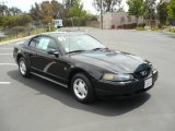 2001 Black Ford Mustang V6 Coupe #12120469