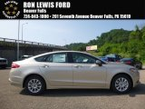 2017 White Gold Ford Fusion S #121687087