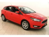 2015 Race Red Ford Focus SE Hatchback #121687310