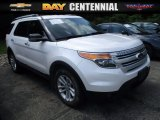 2013 Oxford White Ford Explorer XLT 4WD #121711482