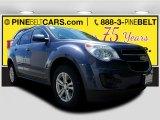 2014 Atlantis Blue Metallic Chevrolet Equinox LT #121711445