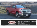 2017 Barcelona Red Metallic Toyota Tundra SR5 Double Cab 4x4 #121711435