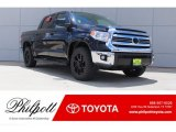 2017 Midnight Black Metallic Toyota Tundra SR5 CrewMax 4x4 #121734886