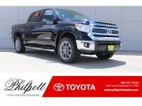 2017 Midnight Black Metallic Toyota Tundra SR5 CrewMax 4x4 #121734883