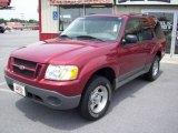 2003 Redfire Metallic Ford Explorer Sport XLS 4x4 #12120064