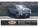 2017 Silver Sky Metallic Toyota Tundra SR5 Double Cab 4x4 #121734675