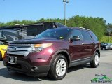 2011 Bordeaux Reserve Red Metallic Ford Explorer XLT 4WD #121734609