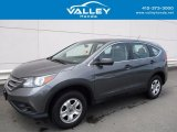 2014 Polished Metal Metallic Honda CR-V LX AWD #121734654