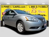 Magnetic Gray Nissan Sentra in 2014