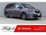 2015 Predawn Gray Mica Toyota Sienna SE #121759464
