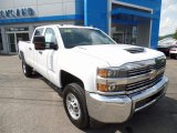2017 Summit White Chevrolet Silverado 2500HD Work Truck Crew Cab 4x4 #121759248