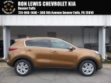2017 Burnished Copper Kia Sportage LX #121759290