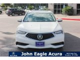 2018 Bellanova White Pearl Acura TLX V6 Advance Sedan #121759222