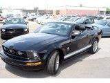 2006 Black Ford Mustang V6 Premium Convertible #12118838