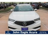 2018 Bellanova White Pearl Acura TLX V6 Technology Sedan #121759220