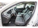 2018 Acura TLX V6 Technology Sedan Ebony Interior