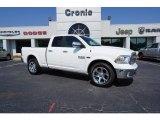 2017 Bright White Ram 1500 Laramie Quad Cab 4x4 #121759420