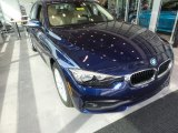2017 Mediterranean Blue Metallic BMW 3 Series 320i xDrive Sedan #121759563