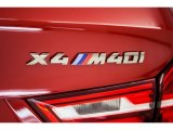 BMW X4 2017 Badges and Logos