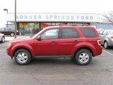 2009 Sangria Red Metallic Ford Escape XLT V6 4WD #12136173