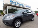 2014 Polished Metal Metallic Honda CR-V EX AWD #121808226