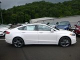 2017 White Platinum Ford Fusion Sport AWD #121808218