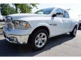 2017 Bright White Ram 1500 Laramie Quad Cab #121808170