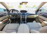 2018 Acura TLX Sedan Parchment Interior