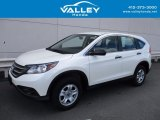 2014 White Diamond Pearl Honda CR-V LX AWD #121824297