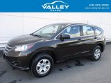 2014 Kona Coffee Metallic Honda CR-V LX AWD #121824296