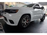 2017 Bright White Jeep Grand Cherokee SRT 4x4 #121824405
