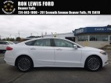2017 Oxford White Ford Fusion Titanium #121824389